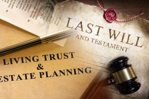 Documents of wills and living trusts